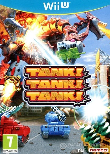 TANK! TANK! TANK! (2012) [WiiU] [EUR] 5.3.2 [WUP Installer] [License] [Multi]