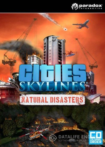 Cities: Skylines - Natural Disasters  (RUS|ENG|MULTi7) [L] - SKIDROW