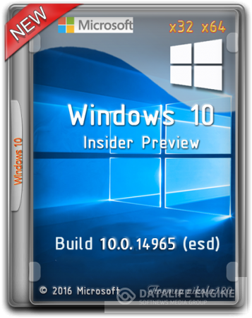 Microsoft Windows 10 Insider Preview Build 10.0.14965 (esd) [2016,Ru/En]