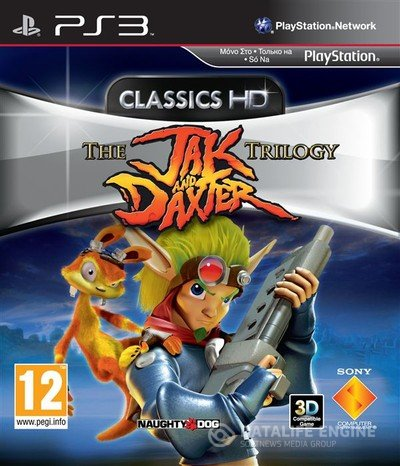 (ps3)The Jak and Daxter Trilogy / Jak and Daxter Collection для 3.73