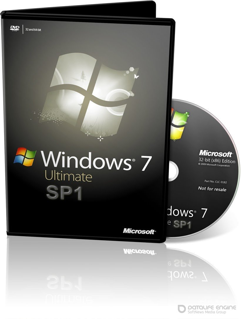 Windows 7 Ultimate SP1 / miniLite v.23 / by naifle / 86 x 64 / ~rus~