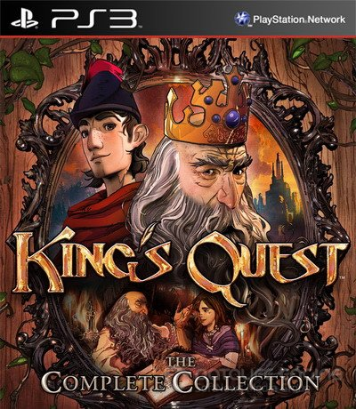 King's Quest - The Complete Collection (2015) [PS3] [USA] 4.21 [Repack / 1.06 / 6 DLC]
