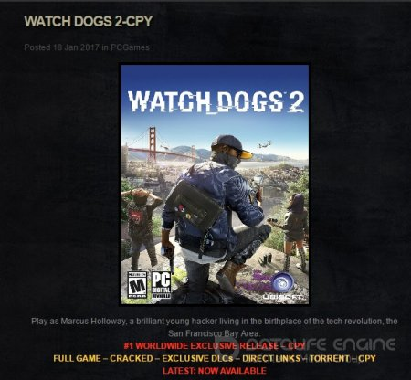 Watch_Dogs 2 Взломали CPY