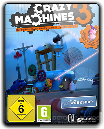 Crazy Machines 3 [RePack] [2016|Rus|Eng|Multi11]