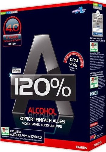 Alcohol 120% 2.0.3.9811 RePack by KpoJIuK