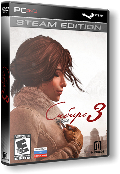Syberia 3 - Digital Deluxe Edition (v.1.2) (3хDVD) [RePack] by xatab