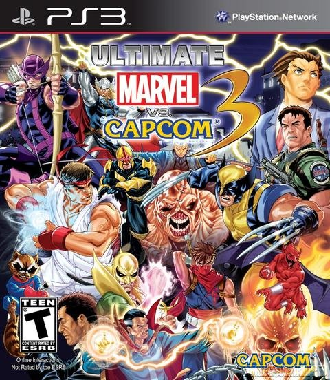 Ultimate Marvel vs Capcom 3 [Cobra ODE / E3 ODE PRO ISO]