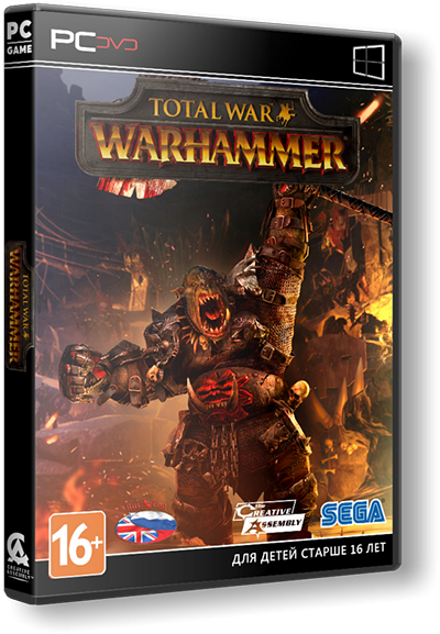 Total War: WARHAMMER + 12 DLC( v1.6.0)L|Steam-Rip