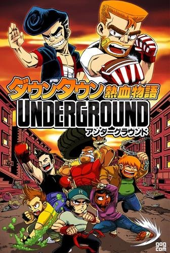 River City Ransom: Underground (Conatus Creative Inc.) (ENG-JAP) [L]