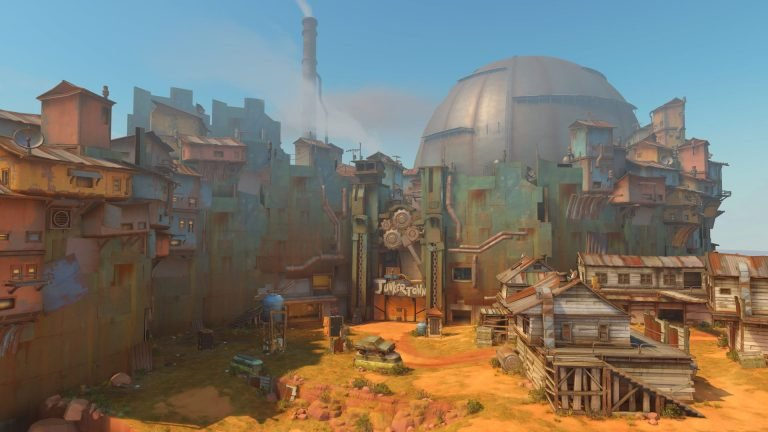 Новое видео  - Overwatch Junkertown Map Preview