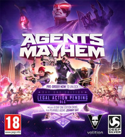Agents of Mayhem (2017) PC | RePack от FitGirl