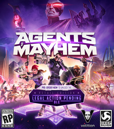 Agents of Mayhem [v 1.03] (2017) PC | RePack от R.G. Catalyst