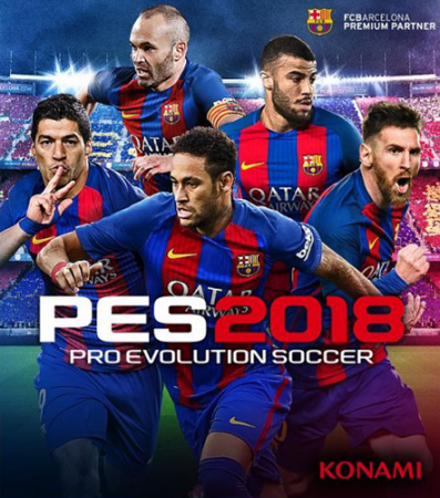 PES 2018 / Pro Evolution Soccer 2018: FC Barcelona Edition (2017) PC | RePack от R.G. Механики