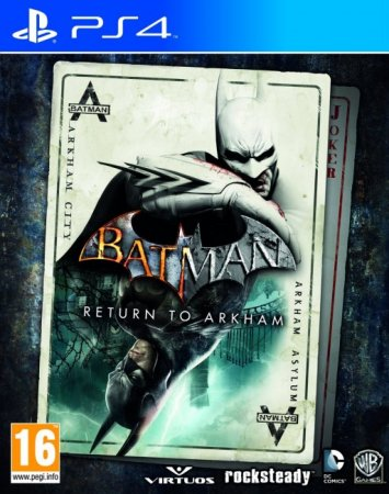 Batman Return to Arkham - Arkham City [EUR/ENG]