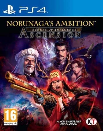 Nobunaga's Ambition Sphere of Influence Ascension [EUR/ENG]