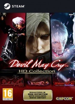 Devil May Cry HD Collection - Twitch Prime [2018, ENG(MULTI), L] 3DM