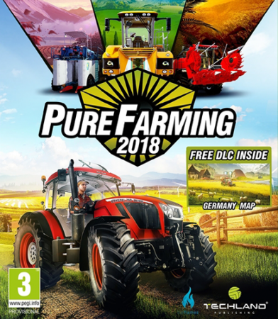 Pure Farming 2018: Digital Deluxe Edition [v 1.1.2 + 11 DLC] (2018) PC | RePack от qoob