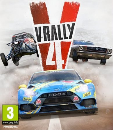 V-Rally 4: Ultimate Edition [v 1.03 + DLCs] (2018) PC | RePack от qoob